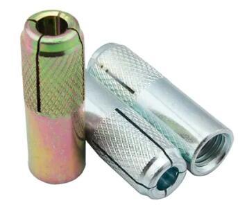 Galvaniserad rostad droppe i kolstål i ankare M6 till M20