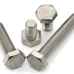 DIN933 hexbult A2 70 rostfritt stål 304 och 316